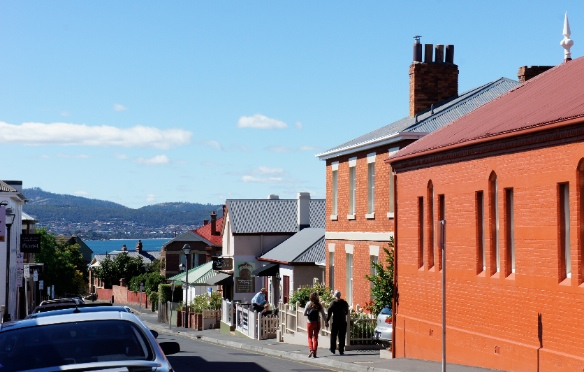 hobart, hampden road, battery point