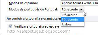 Microsoft Office: Instalar novo acordo Ortográfico
