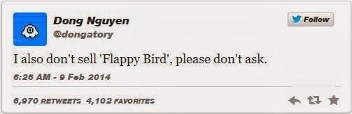 flappy bird bukan untuk dijual