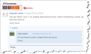 contoh auto paginasi pada komentar blog