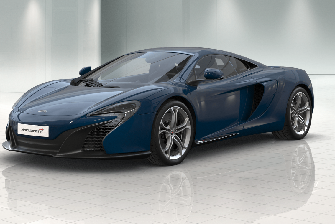 Mclaren 650s blue standard - Code couleur gris ...