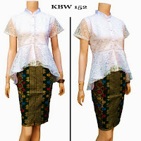 Baju Broklat Kebaya Batik Grosir