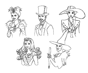 #7 Oz The Great And Powerful Coloring Page