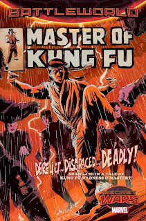 Cover of Master of Kung-Fu #1 mini-series from Marvel Comics by Francesco Francavilla