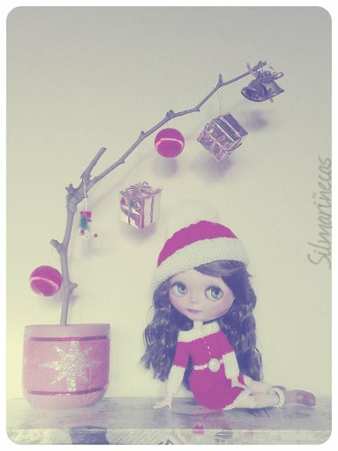 diy - árbol de navidad con una rama
