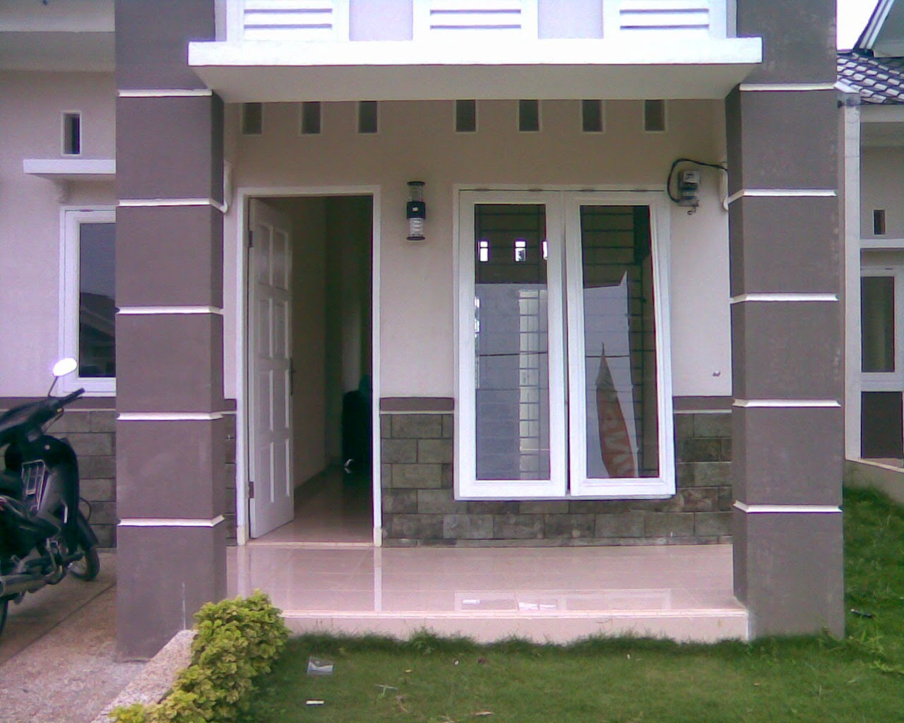 gambar teras rumah minimalis sederhana dan modern 2017