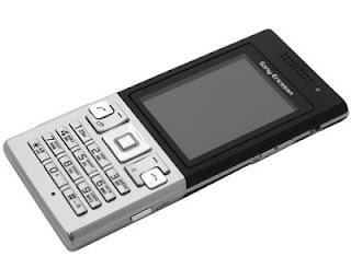 Мобильный телефон Sony Ericsson T700 Silver стильный, элегантный, солидный моноблок