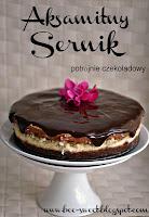Aksamitny sernik potrójnie czekoladowy