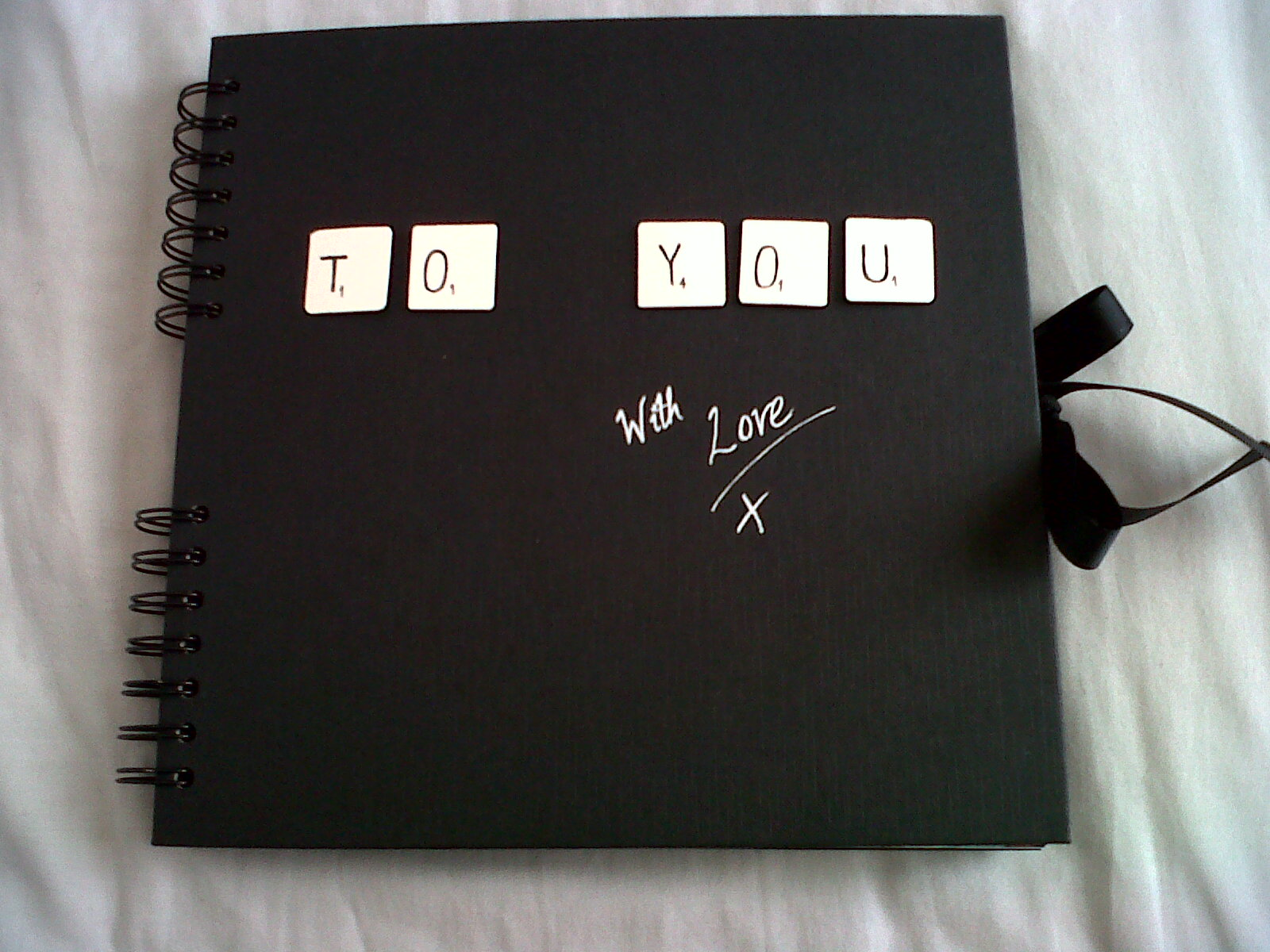 How to scrapbook for boyfriend - Tuesday 27 March 2012