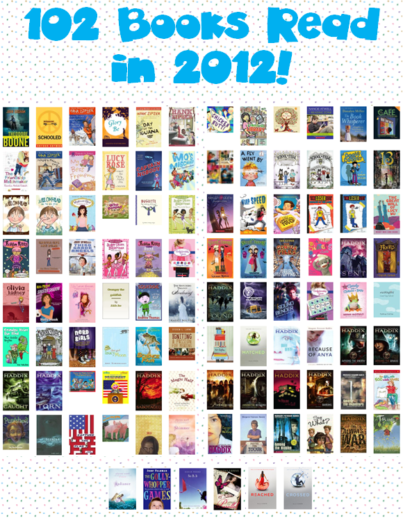 Heres My GoodReads Bookshelf For 2012
