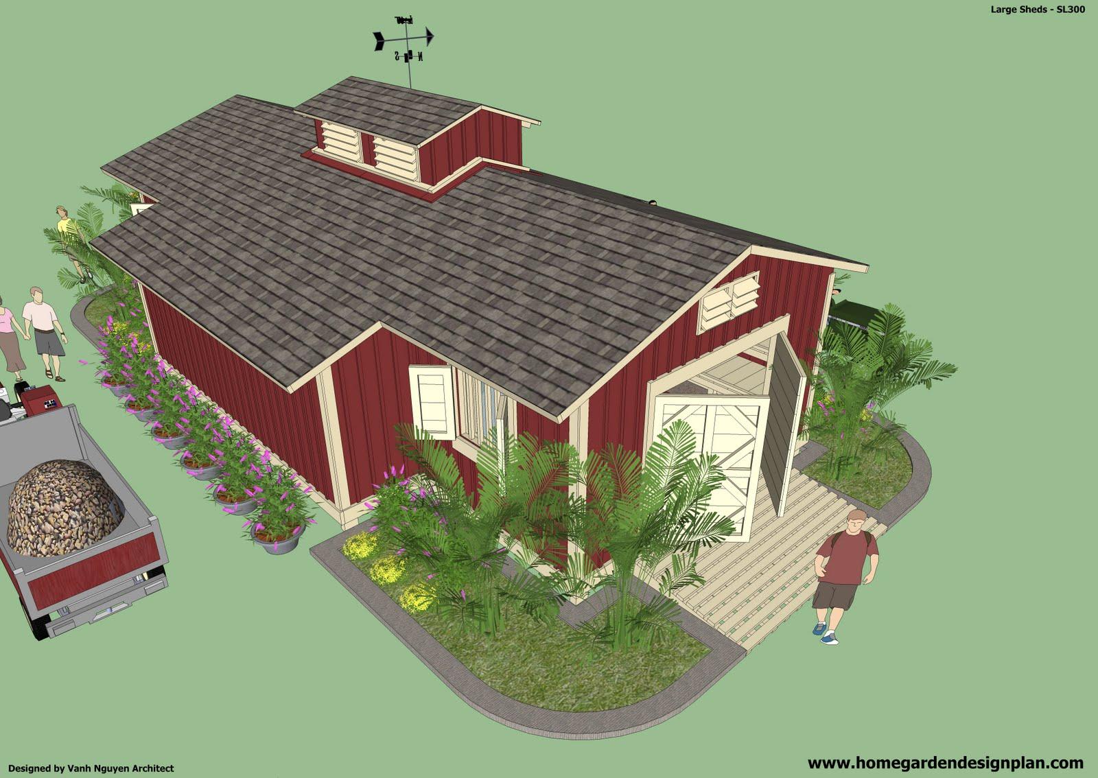Computer kaz free 10x12 gambrel storage shed plans pdf for Garden shed plans pdf