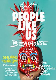 Guti presents People Like Us Beachouse, Ibiza