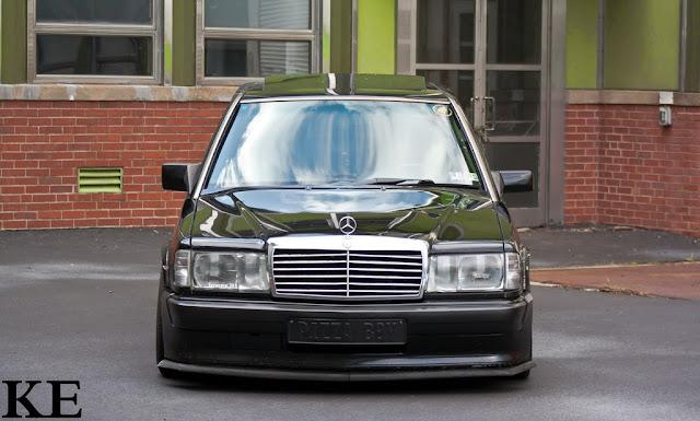 mercedes 190 front bumper