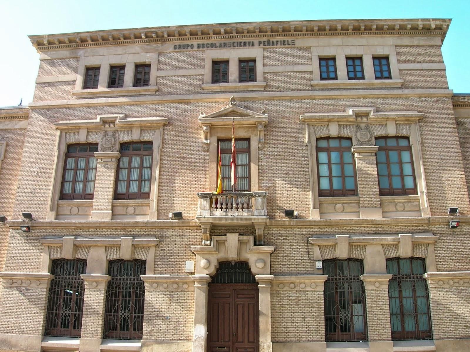 Web del colegio público Cierva Peñafiel