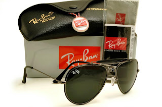Rayban Diamond Hard Frame Gunmatel with Black Lens Black