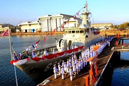 TNI AL proses pengalihan 10 kapal perang ke Bakamla