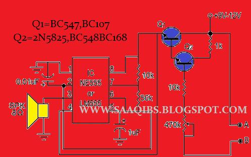 Best Water Sensor Circuit Diagram