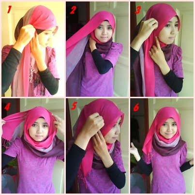 So easy wearing hijab! Part 1...step by step   Beautiful Hijabista