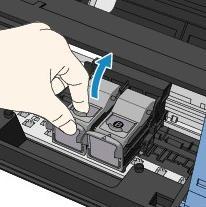 sacar cartuchos impresora canon mp230
