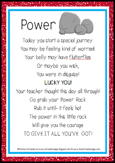 Worry Stones free pdf poster From The Schroeder Page photo of