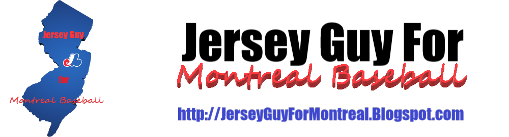 Jersey Guy For Montreal Baseball