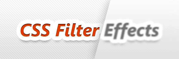 CSS Filters: Convert Colored Image to Grayscale, Sepia, Saturate, Invert