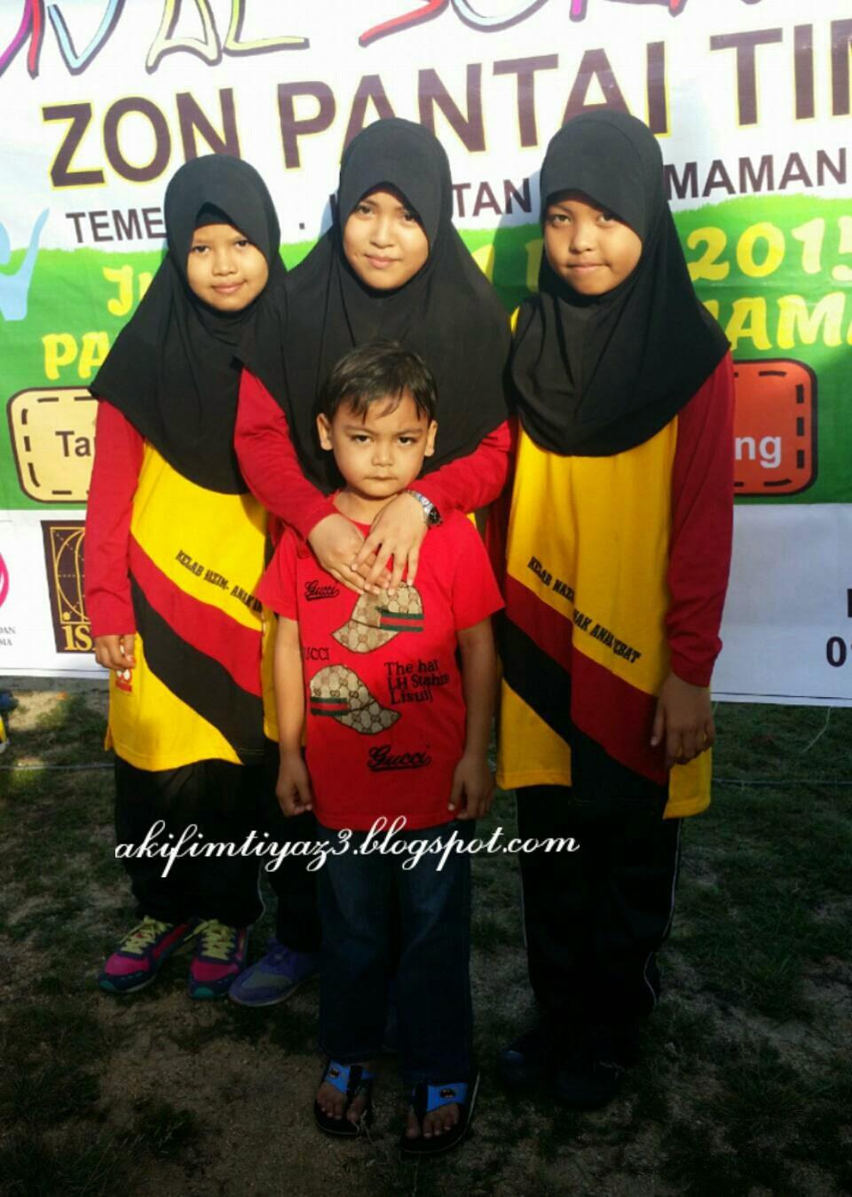 Juara Karnival Sukan Nazim Zon Pantai Timur