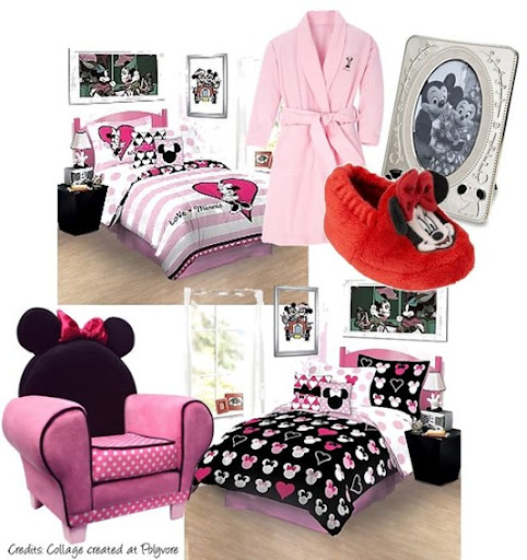 MINNIE MOUSE BEDROOMS