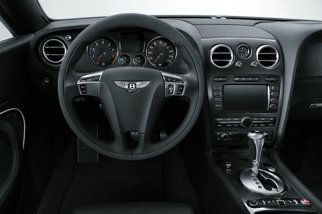 2011 Bentley Continental Supersports Convertible Front Interior