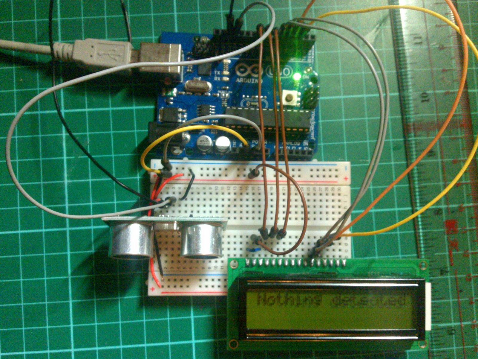 Arduino e Cia: Medidor de distncia com