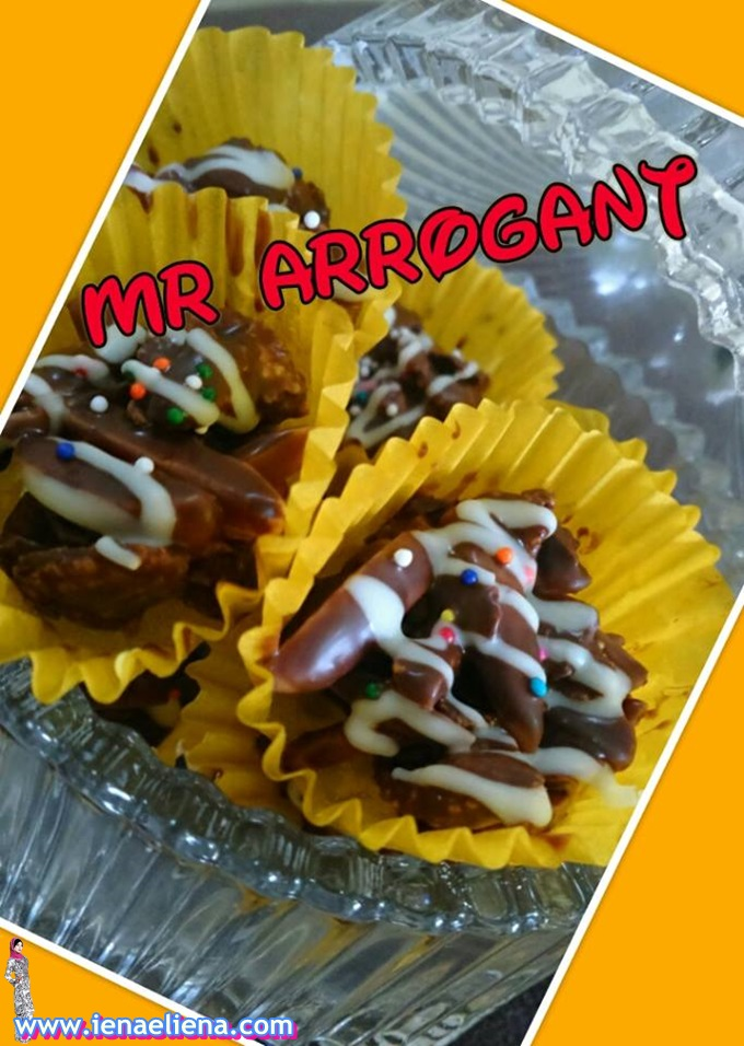 Homemade Biskut MR Arrogant