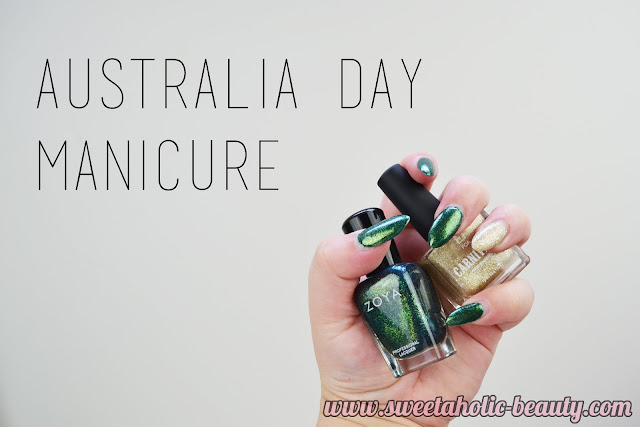 Australia Day Manicure - Sweetaholic Beauty