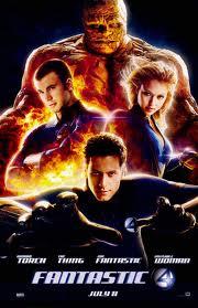 DVD cover Fantastic Four movieloversreviews.blogspot.com