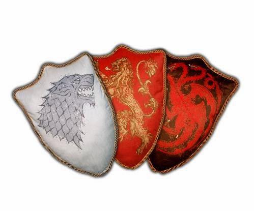 Cojines Escudos de las Casas Juego de Tronos
