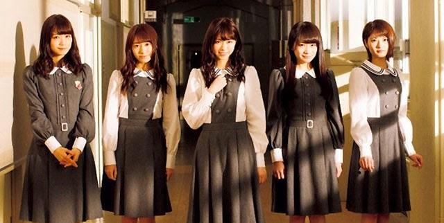 Nogizaka46 Menjadi Cover Girl Majalah GIRLPOP