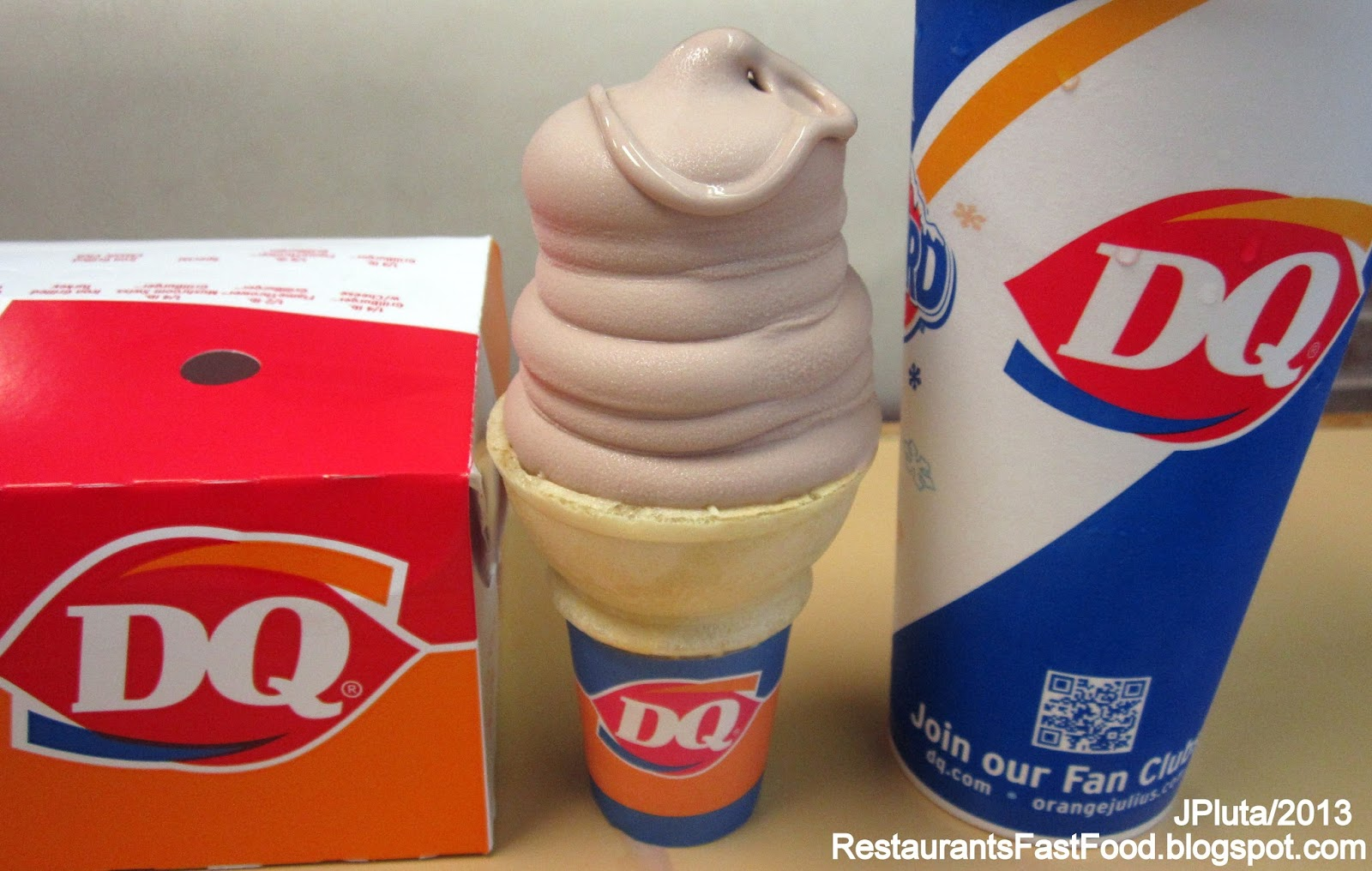 Dairy Free Ice Cream Fast Food
