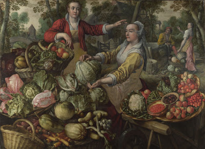 Joachim Beuckelaer - The Four Elements: Earth, 1569