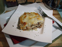 Roasted Garlic and Mushroom Lasagna