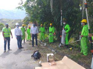 Gobierno de Boyacá lidera 'Ejército Vial' para arreglar y mantener carreteras del Norte del departamento