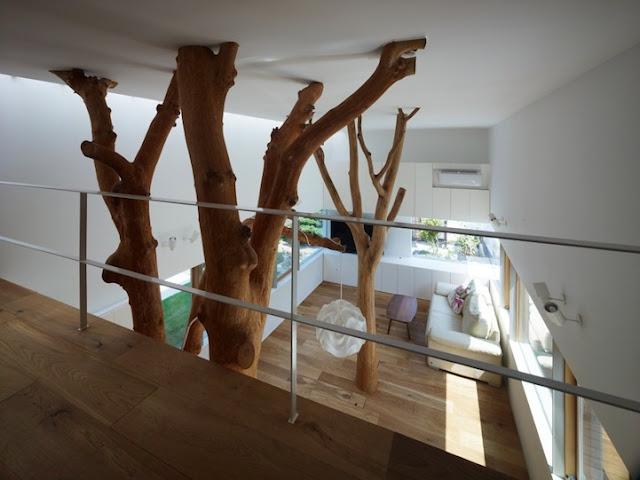 Garden Tree House by Hironaka Ogawa & Associates (via Nest of Pearls, Australian Design Blog)