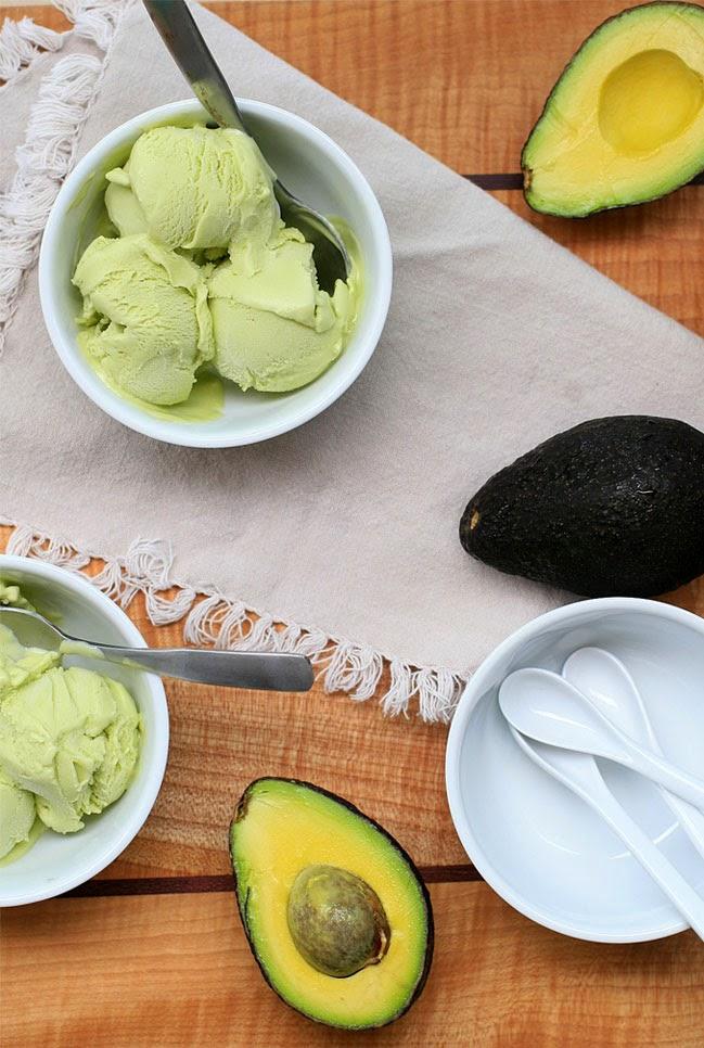 Vietnamese Recipes] Avocado Ice Cream - All Asian Recipes For You