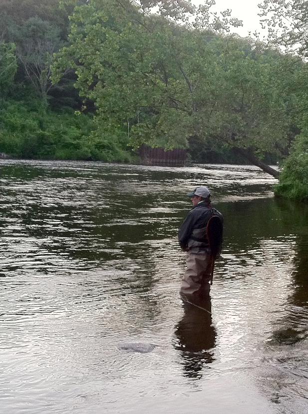 2 flygirls commencement on the farmington river for Farmington river fishing