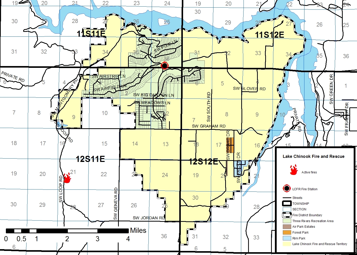 odf usfs lcfr and two helicopters are currently working on the fire that was started by lightening this afternoon here is a map of the location of the