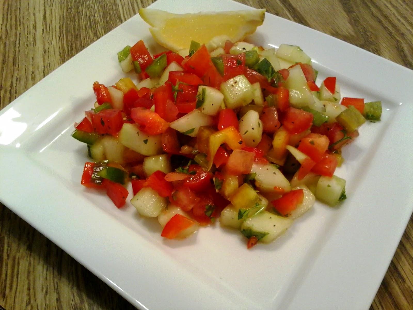 Sandra's Mexican Israeli Salad Recipe — Dishmaps