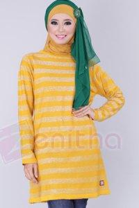 Zenitha Blus Zn126 - Kuning (Toko Jilbab dan Busana Muslimah Terbaru)