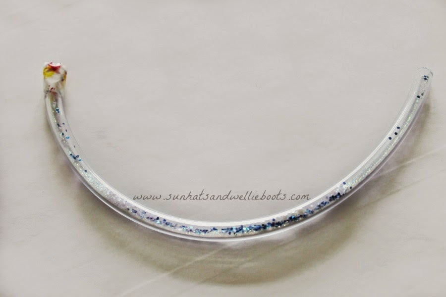 Cooling Necklaces That You Freeze : Diy frozen glitter bracelets babysitting academy