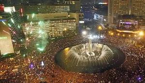 tempat wisata tahun baru di tengah kota