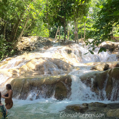 Hiking up Dunn's River Falls, Ocho Rios, Jamaica | CosmosMariners.com