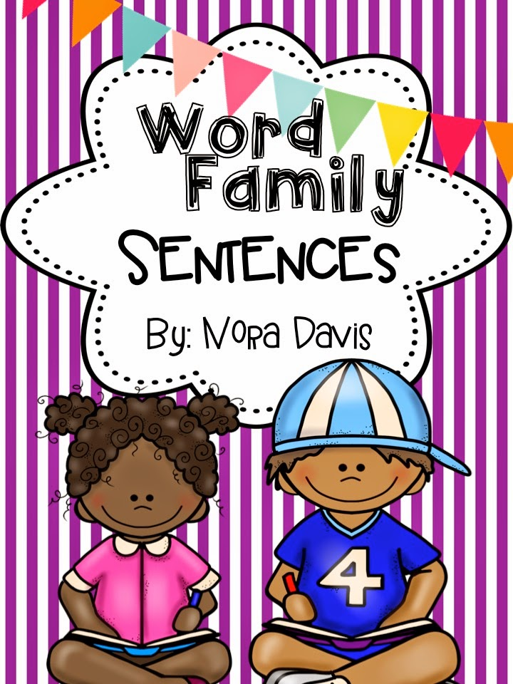 http://www.teacherspayteachers.com/Product/Word-Family-Sentences-1179114