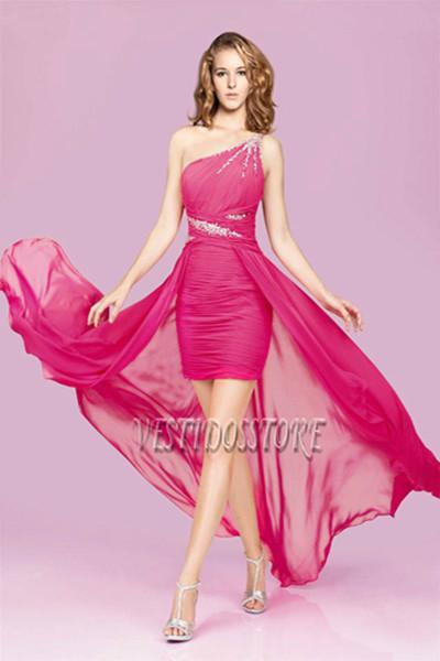 Convertir vestido corto en largo